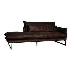 MILAN DAYBED RIGHT MERSEY DARK BROWN