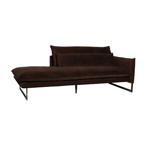 MILAN DAYBED RIGHT SEVEN DARK BROWN