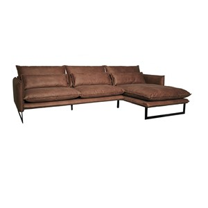 MILAN LOUNGE SOFA RIGHT MERSEY TAUPE