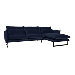 MILAN LOUNGE SOFA RIGHT SEVEN NAVY