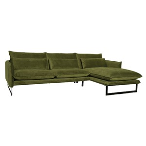 MILAN LOUNGE SOFA RIGHT SEVEN MOSS