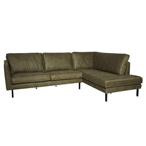 PERUGIA LOUNGE SOFA RIGHT MERSEY GREEN