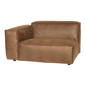 VERONA 1,5 SEAT ARM LEFT MERSEY TAUPE