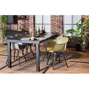 NATHAN DINING TABLE BLACK 220X95