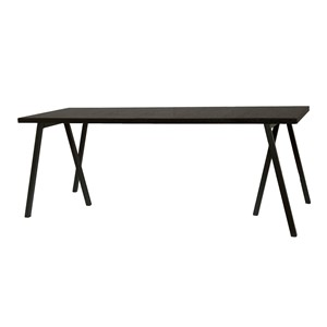 WAREGEM DINING TABLE BLACK 240X90