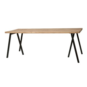 WAREGEM DINING TABLE OAK 240X90