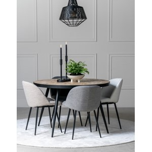LEXINGTON DINING TABLE Ø120X76