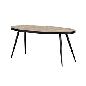 CINCINNATI OVAL DINING TABLE 180X90
