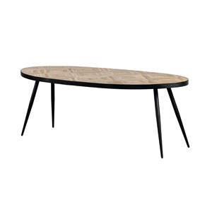 CINCINNATI OVAL DINING TABLE 220X100