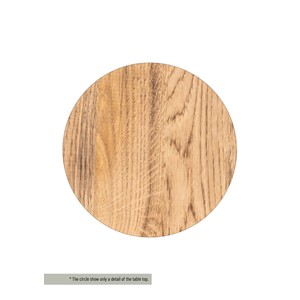 HENDERSON/CLINTON TABLE TOP OAK
