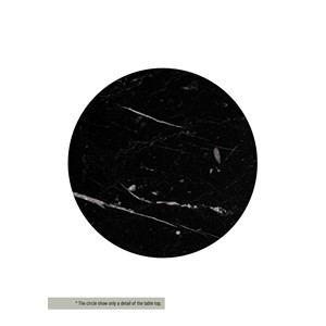 HENDERSON/CLINTON TABLE TOP MARBLE BLACK