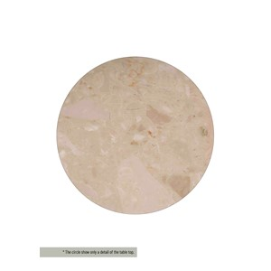 HENDERSON/CLINTON TABLE TOP MARBLE BEIGE