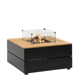 COSIPURE 100 BLACK FRAME/TEAK TOP
