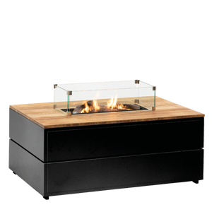 COSIPURE 120 BLACK FRAME/TEAK TOP